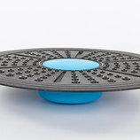 Диск балансировочный с регулировкой высоты Balance Board 7214 диаметр 41см, высота от 5,4 до 7см