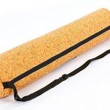 Сумка для йога коврика чехол для фитнес коврика пробковый Yoga bag 6973 размер 13х65см