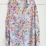 Нежная рубашка в цветочный принт F&F