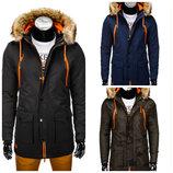Куртка парка мужская на зиму