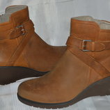 Ботильоны ботинки черевики кожа ECCO размер 41 42, ботильони шкіра