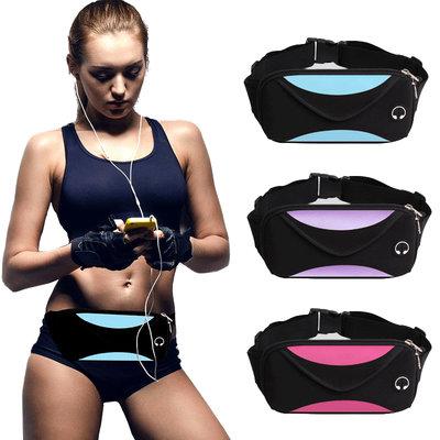 071Спортивная сумка - бананка на пояс, через плечо грудь. Мужская и женская сумка для спорт бег йоги