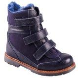 Ортопедические ботинки зима детские