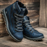 Мужские кожаные зимние ботинки Caterpillar