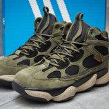 Зимние ботинки на меху Adidas Primaloft, хаки