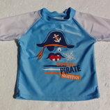 Верх от купального костюма с Пиратом. На год. 74-80 размер.