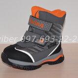 Термоботинки Tom m арт.3982-В р.23-30 зимние ботинки, термики, том м зимові термо ботинки tom.m