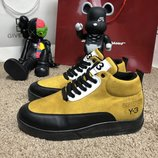 Ботинки утепленные Adidas Y-3 Bashyo II Sneakers Yellow/Black