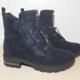 Зимние ботинки для девочки арт. 1069-34 р.33-38 зимові ботинки башили