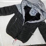 теплая курточка Еврозима на меху для мальчиков