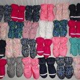 Зимние рукавицы краги и пинетки на меху, от 6 мес. до 13 лет.