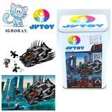 Конструктор JVToy 22001 Нападение Королевского когтя черная пантера аналог Lego Super Heroes 76100