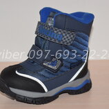 Термоботинки Tom m арт.3982-С р.23-30 зимние ботинки, термики, том м зимові термо ботинки tom.m