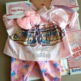 Красивый костюм для baby born, соска, памперс