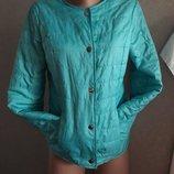 Куртка ветровка мятная ,размер С