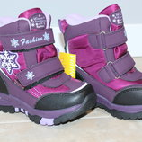 Термо ботинки сноубутсы детские Том. М