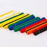 Пояс для кимоно двухцветный 7263 длина 220-280см хлопок