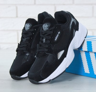 c2071326b Женские кроссовки Adidas Falcon Black White Адидас: 1320 грн ...