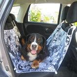Автогамак для перевозки собак 134х125 авто 4 цвета покрывало подстилка накидка чехол