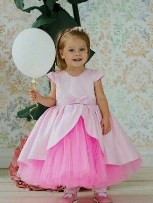 Нарядные пышные детские бальные выпускные платья