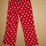 Пижамные штаны флис F&F 7-8 лет р.122-128