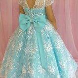 Платье детское нарядное выпускное пышное