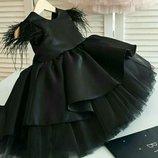 Нарядное детское пышное выпускное платье