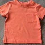 Фирменная футболка Mothercare, 9-18 мес