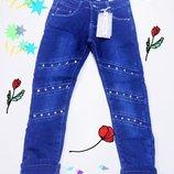 Качественные утепленные джинсы на флисе Польша 6 - 16 лет