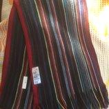 Мужской шарф в полоску Burton menswear 192х26