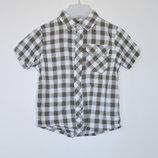 рубашка F&F 2-3 года хлопок