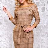 Красивое модное платье в клетку Артикул 1060