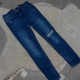 Стильные джинсики zara women р. 36 s