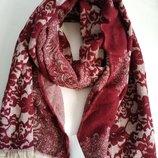 Тёплый женский палантин шарф голландского бренда C&A Сток из Европы