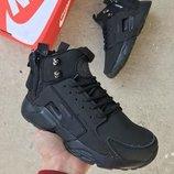 Мужские черные зимние кроссовки nike air huarache acronym winter 41 42 43 44 45 размер