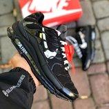 Черные мужские кроссовки nike air max 97 plus 41 42 43 44 45 размер