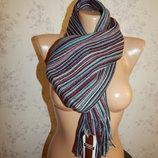 шарф мужской акриловый стильный модный новый