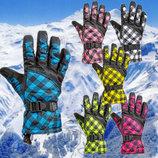 Перчатки горнолыжные женские Lady перчатки лыжные 6 цветов