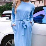 Платье с шапкой ангора 42-44 , 46-48
