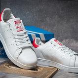 Кроссовки мужские Adidas Stan Smith, белые, р. 41 - 45
