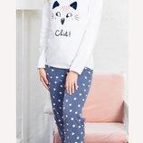 Флисовые пижамы Vienetta Secret р. L