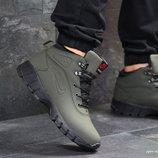 Зимние ботинки Nike lunarridge dark green