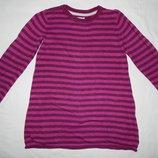 Фиолетовая кофта-сарафан H&M с содержанием шерсти. На девочку 3-4 лет. Рост 98-104 см.