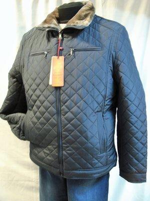 Куртка мужская на меху без капюшона укороченая 48,50,52,54,56
