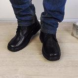 Мужские зимние ботинки, классного качества натуральная кожа Для настоящих морозов