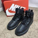 Ботинки Nike Lunar Force 1 Duckboot All Black