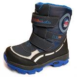 Термо сапоги ботинки зимние для мальчика р.29-18,7см
