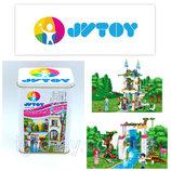 Конструктор JVToy 15007Сад для принцессы 471 деталь Аналог LegoDisney Princess