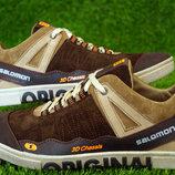 Мужские кроссовки SALOMON коричневые