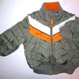 Куртка H&M два в одном Eur 86 cv 1-1.5 года демисезон